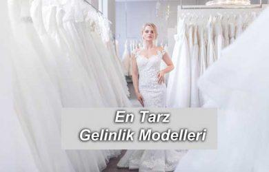 En Tarz Gelinlik Modelleri